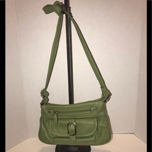 Have it in time.  St. Patrick's Day green purse.